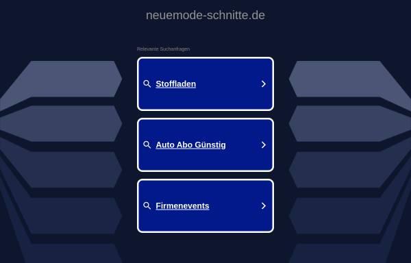Neue Mode-Schnitte: Nähen, Handarbeiten neuemode-schnitte.de