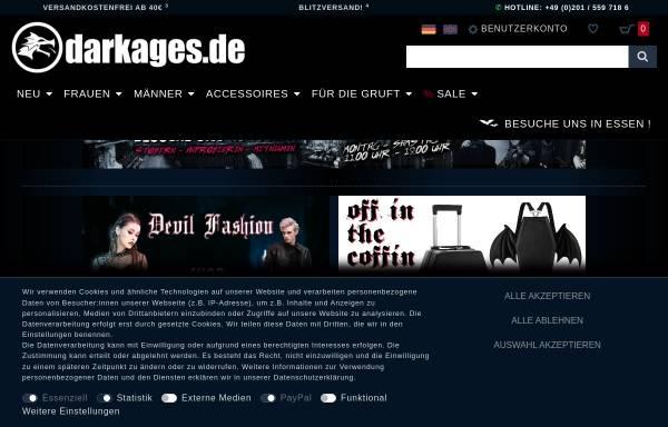 Vorschau von www.darkages.de, Dark Ages, Glasche und Kuczwalska GbR
