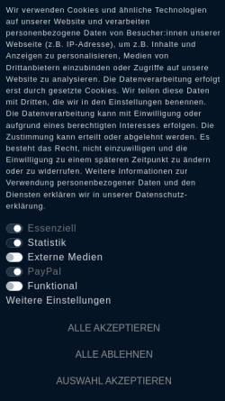 Vorschau der mobilen Webseite www.darkages.de, Dark Ages, Glasche und Kuczwalska GbR