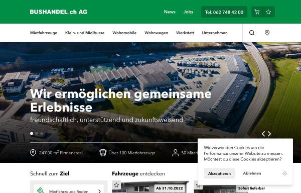 Vorschau von www.bushandel.ch, Bushandel.ch GmbH