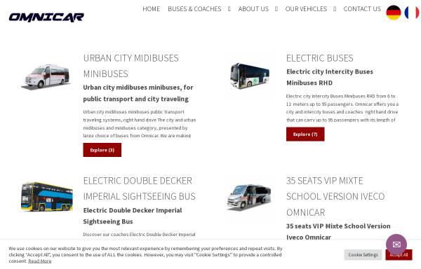 Vorschau von omnicar.eu, Omnicar Ltd.