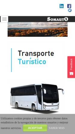 Vorschau der mobilen Webseite www.somauto.com, Somauto S. L.
