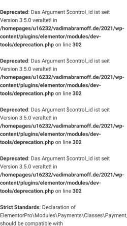Vorschau der mobilen Webseite vadimabramoff.de, Abramoff, Vadim