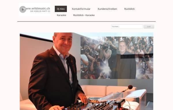 Vorschau von www.wildmusic.ch, Alex's Karaoke Show