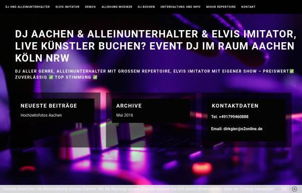 Vorschau von www.baffy-scorpion.de, Alleinunterhalter Baffy Scorpion