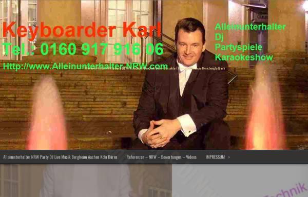 Vorschau von www.alleinunterhalter-nrw.info, Alleinunterhalter Karl