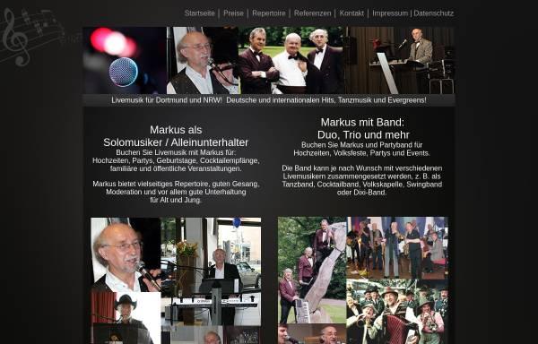 Vorschau von www.markus-musiker.de, Alleinunterhalter Markus