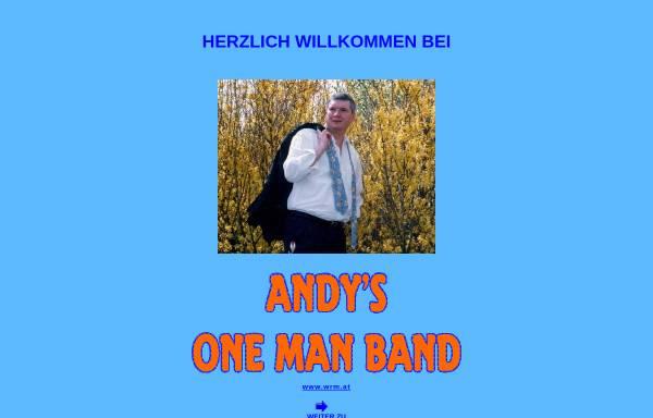 Vorschau von www.wrm.at, Andys Ein-Mann-Band