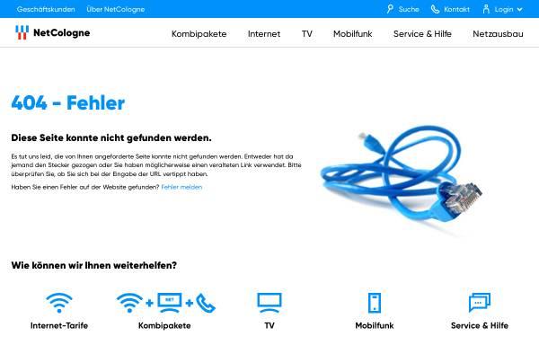 Vorschau von www.mynetcologne.de, Another LiveART