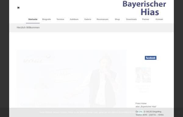 Vorschau von www.bayerischer-hias.de, Bayerischer Hias