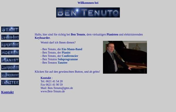 Vorschau von ben-tenuto.de, Ben Tenuto