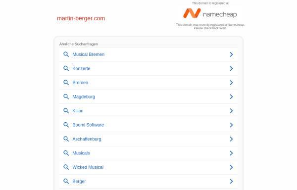 Vorschau von martin-berger.com, Berger, Martin