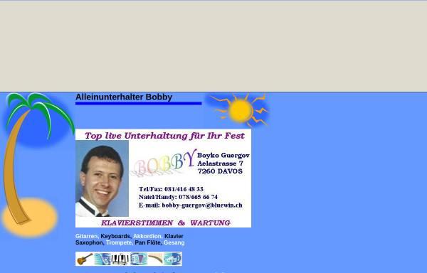 Vorschau von bobby-solo.tripod.com, Bobby