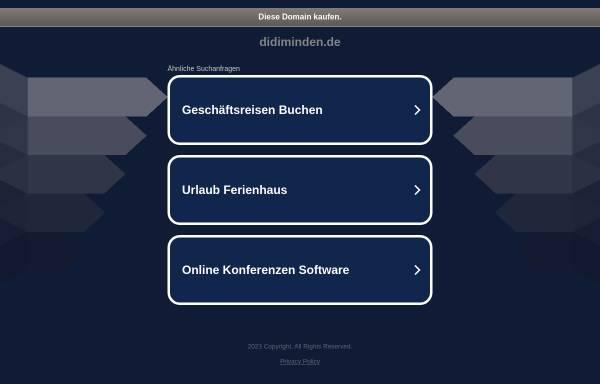 Vorschau von www.didiminden.de, Böhning, Dieter