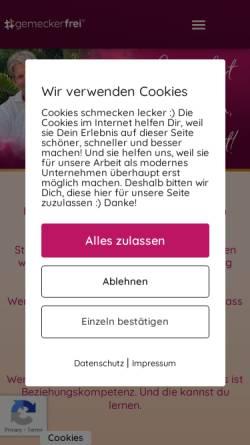 Vorschau der mobilen Webseite www.berndbott.de, Bott, Bernd