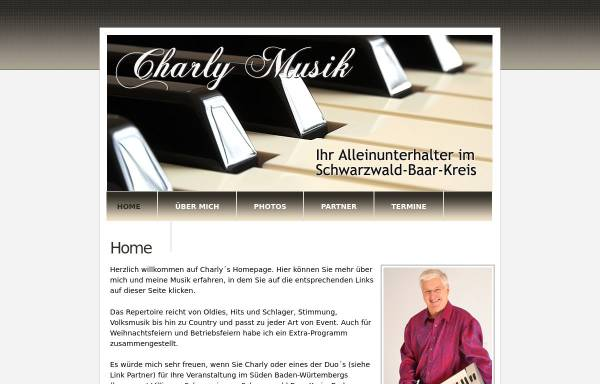 Vorschau von www.charly-musik.de, Charly M.