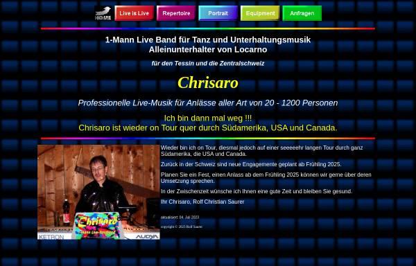 Vorschau von chrisaro.ch, Chrisaro