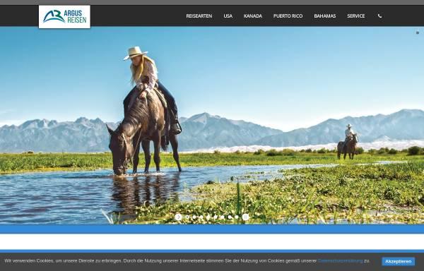 Vorschau von www.argusreisen.de, Argus Reisen