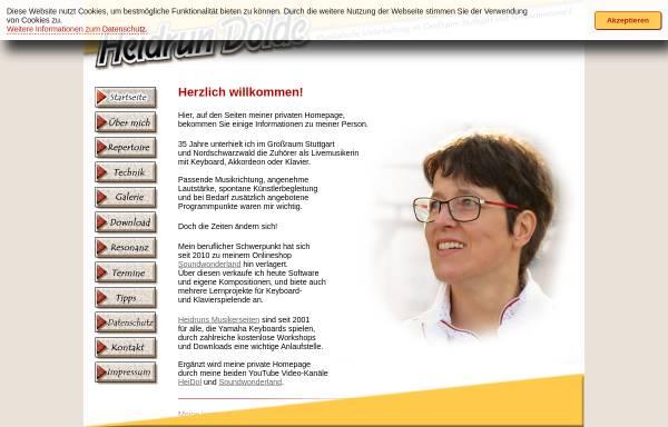 Vorschau von heidrun-dolde.de, Dolde, Heidrun
