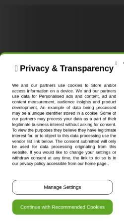 Vorschau der mobilen Webseite www.franzdorfer.com, Dorfer, Franz
