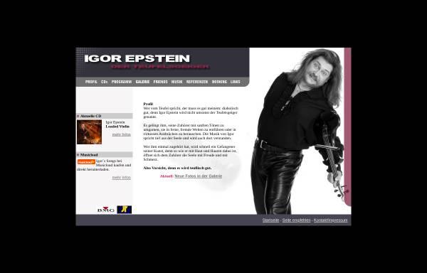 Vorschau von www.teufelsgeiger.com, Epstein, Igor