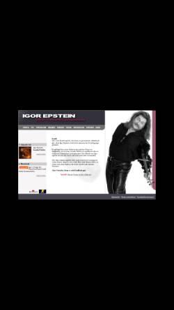 Vorschau der mobilen Webseite www.teufelsgeiger.com, Epstein, Igor