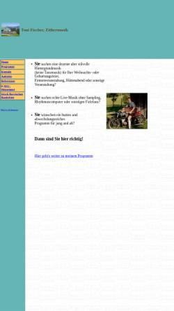 Vorschau der mobilen Webseite fischertoni.de, Fischer, Toni