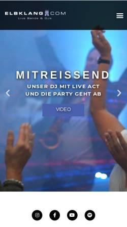 Vorschau der mobilen Webseite www.schoenefeier.de, Friedrichsen, Markus