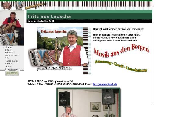 Vorschau von www.fritz-aus-lauscha.de, Fritz aus Lauscha