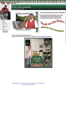 Vorschau der mobilen Webseite www.fritz-aus-lauscha.de, Fritz aus Lauscha
