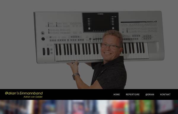 Vorschau von www.einmannband.ch, Gelder, Adrian van