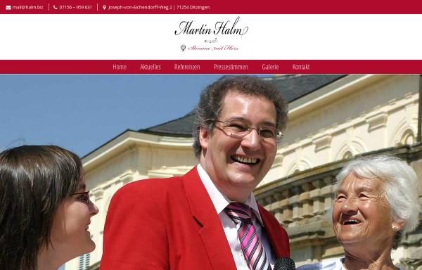 Vorschau von www.martin-halm-voice.de, Halm, Martin