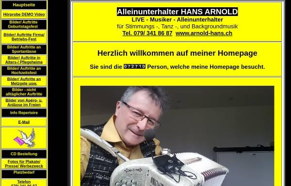 Vorschau von arnold-hans.ch, Hans Arnold