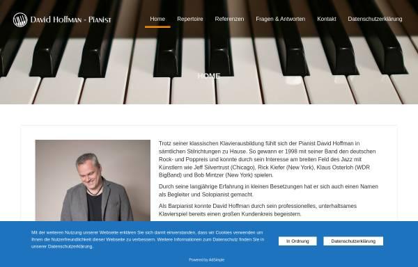 Vorschau von www.live-pianist.de, Hoffman, David
