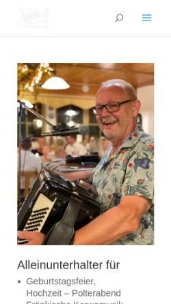 Vorschau der mobilen Webseite www.bernd-kern.de, Kern, Bernd