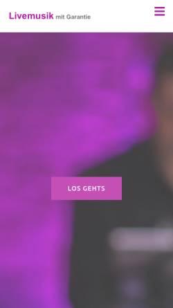 Vorschau der mobilen Webseite www.mitgarantie.de, Kolisko, Andreas