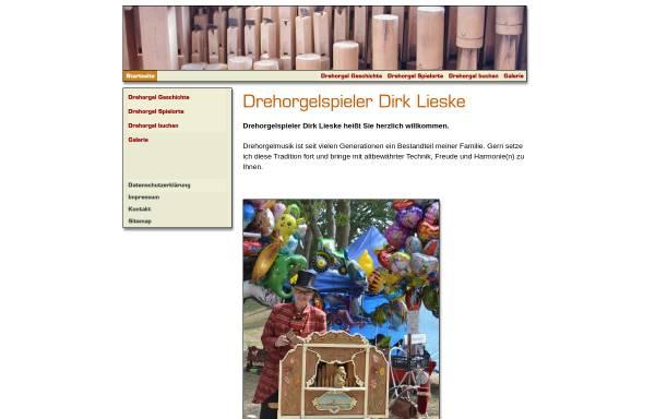 Vorschau von www.drehorgel-spieler.de, Lieske, Dirk