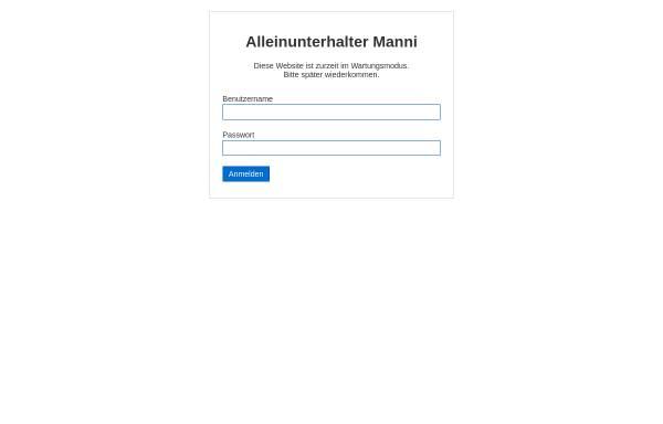 Vorschau von www.theuermann.de, Manni