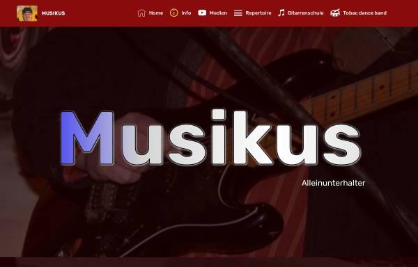 Vorschau von www.musikus-live.de, Musikus