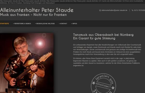 Vorschau von www.peters-tanzmusik.de, Peters Tanzmusik
