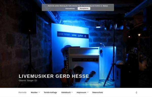 Vorschau von produktiv-music.de, Alleinunterhalter modern art