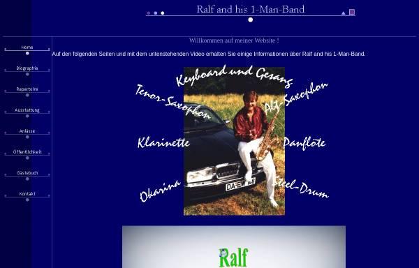 Vorschau von www.musik-ralf-simon.de, Ralf and his 1-Man-Band