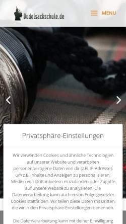 Vorschau der mobilen Webseite www.highland-piper.de, Rech, Jürgen