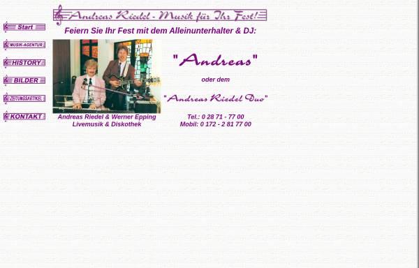 Vorschau von www.andreas-riedel.de, Riedel, Andreas