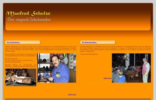 Vorschau von www.der-singende-schuhmacher.de, Der singende Schuhmacher