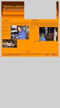 Vorschau der mobilen Webseite www.der-singende-schuhmacher.de, Der singende Schuhmacher