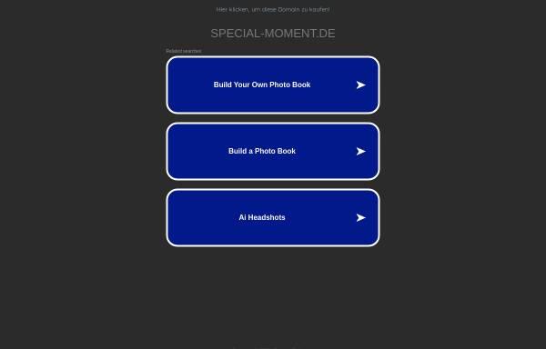 Vorschau von www.special-moment.de, Special Moment
