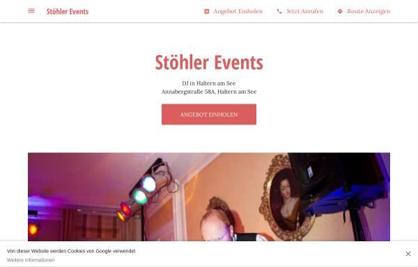 Vorschau von www.stoehler-events.de, Stöhler Events