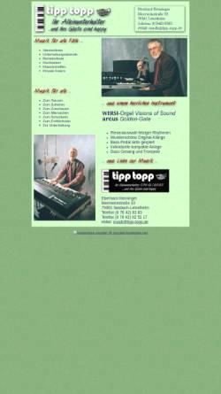 Vorschau der mobilen Webseite www.tipp-topp.de, tipp-topp