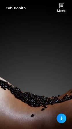 Vorschau der mobilen Webseite www.tobi-bonito.de, Tobi-Bonito